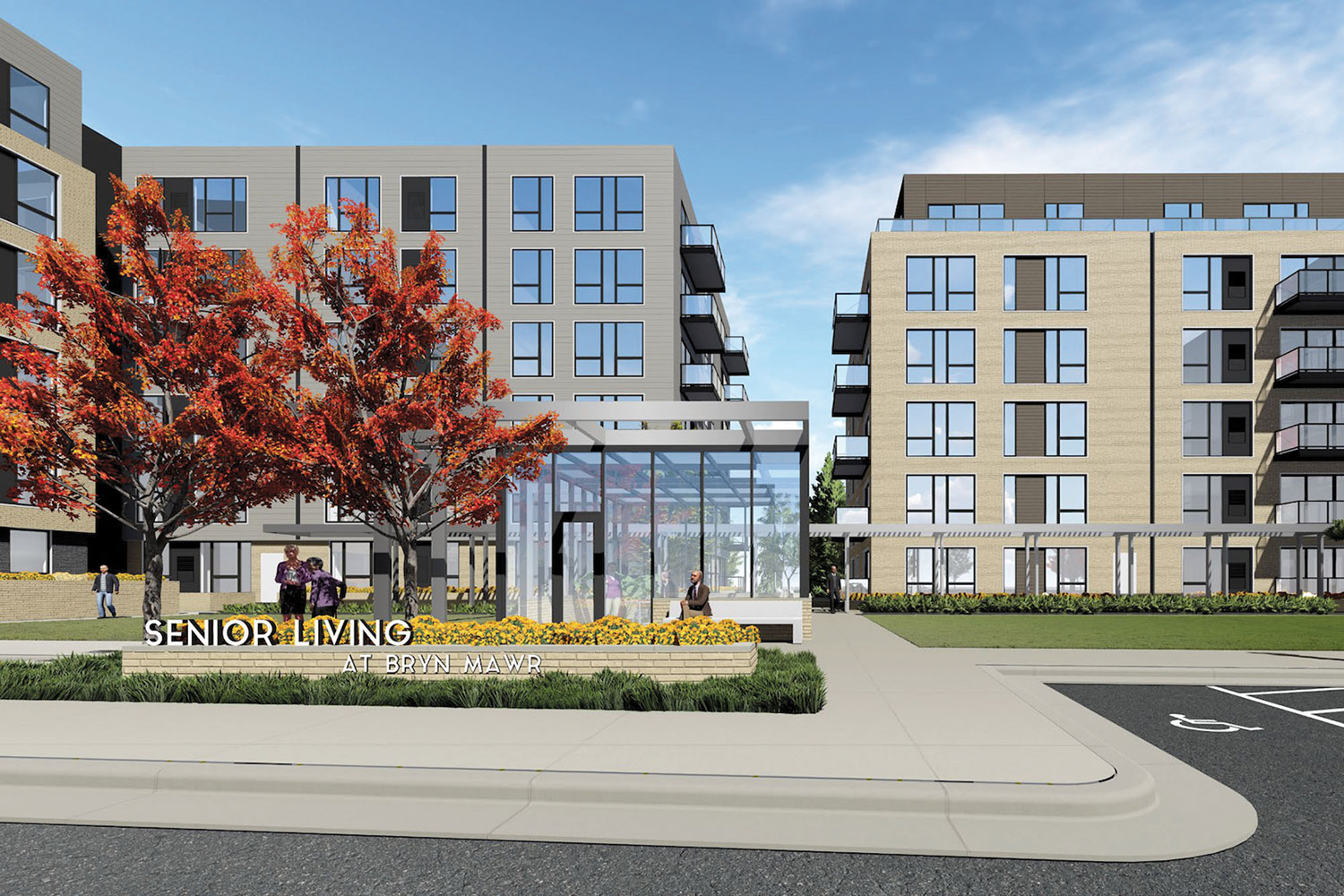 Lupe and Swervo Development's Bryn Mawr project is all for seniors